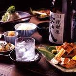 日本酒、焼酎に合う和食