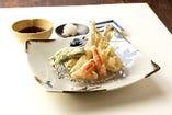 秋の味覚 天ぷら盛り合わせ