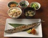 【季節限定】秋刀魚の塩焼き定食