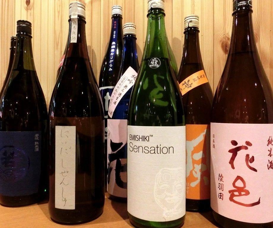 全国の純米酒40種類を揃えました!