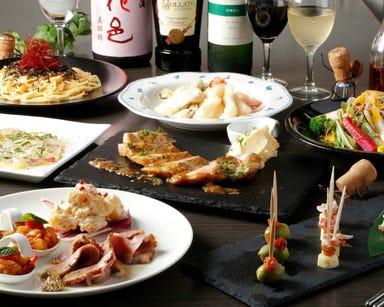 100種類のワインと日本酒 和イタリアン MATSU コースの画像