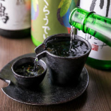 四国の酒造よりこだわり地酒の取揃え♪四国郷土料理との相性抜群