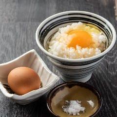 ~塩で食べる~柚子たまごのTKG