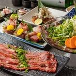自慢の鍋や名物たまご料理を味わえる飲み放題付コースをご用意