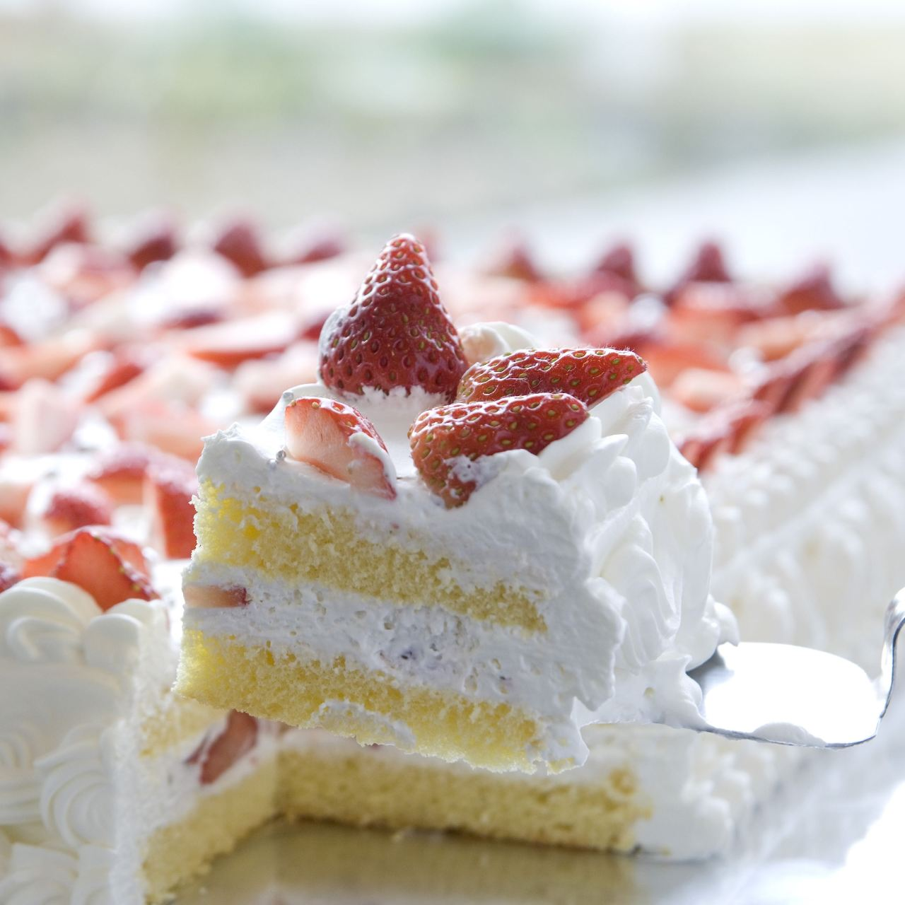 1番人気!ジャンボショートケーキ