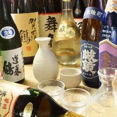 広島地酒の飲み比べ5種