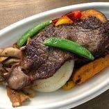広島牛と夏野菜のグリル(ごはんなし)