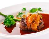 牛ヒレ肉のソテー ポルチーニ茸ソース