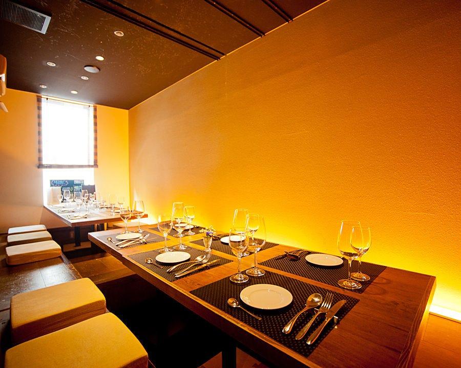 クラシックなフランス料理を 町家を改装した大人空間で