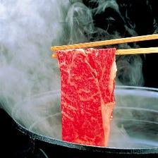 上牛肉 or 国産豚 しゃぶしゃぶ 食べ放題