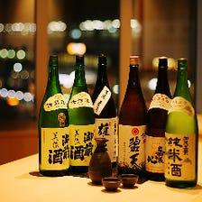 岡山の地酒もございます。