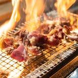 地鶏炭火焼き