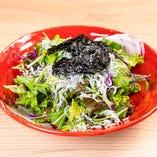 JTM和風サラダ~ジャコ・トマト・水菜~