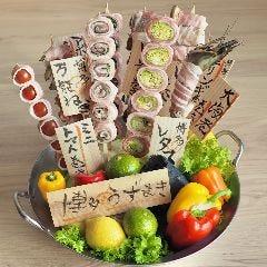 【完全個室】炭火野菜巻き串と炉端焼き 博多 うずまき 宮崎店