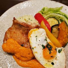 【平日10食限定!】鶏もも肉と夏野菜のプランチャプレート