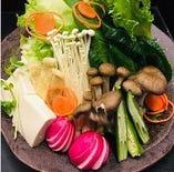 ベジタリアンにおすすめ!【要予約】豆乳ベースのベジタリアン鍋