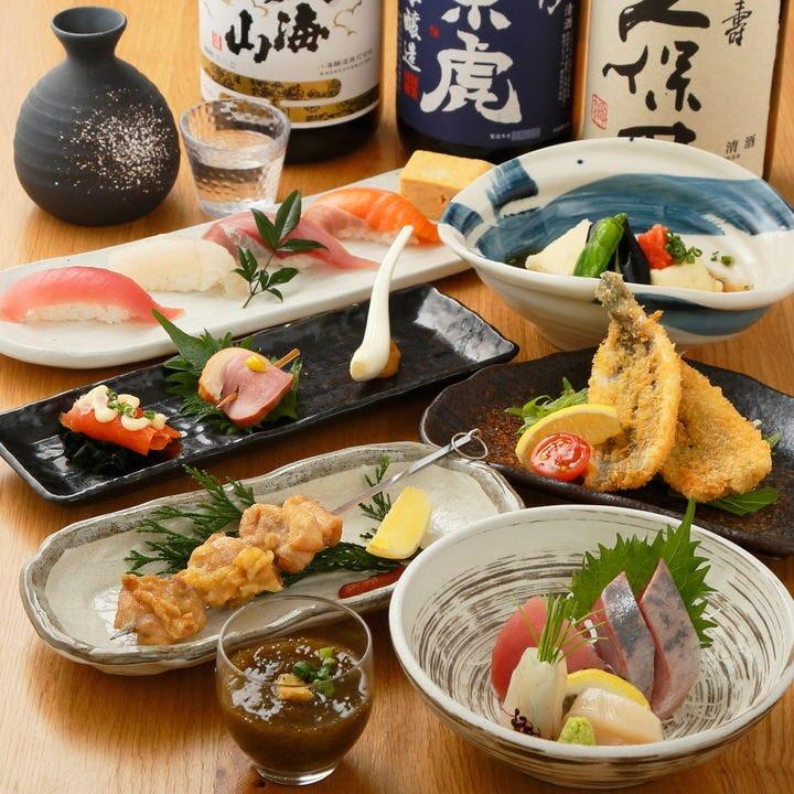 朝獲れ地魚や旬の味覚を詰め込んだ宴会コースがおすすめ