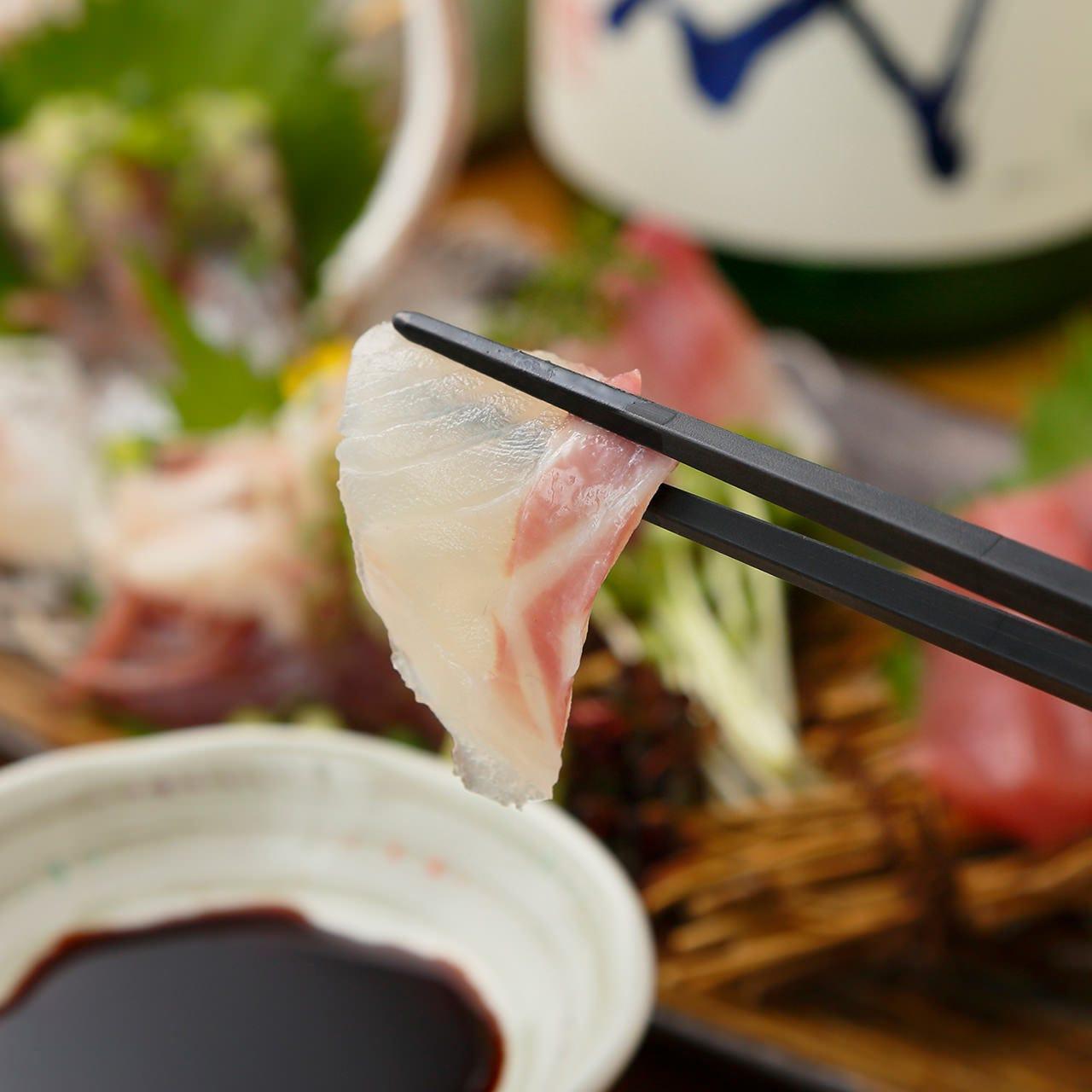 身が引き締まった旬魚で季節を感じる贅沢を思う存分味わって