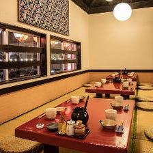 懐かしさを感じる琉球古民家の空間