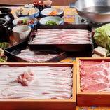 沖縄豚しゃぶ♪ 上質な食べ放題プランです!