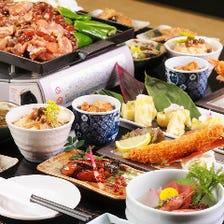 2H飲放付☆手羽先と味噌串カツの名古屋盛りを楽しむ「名古屋飯コース」《全9品》4500円