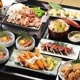 2H飲み放題付きコースは9品4,000円から!名古屋めしを食べつくす