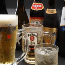 【単品】生ビールをはじめカクテル・サワーなど種類豊富なドリンクで宴会『2時間飲み放題』