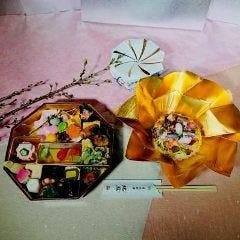 お花見弁当3,500円(税込)