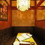 【4名様までの半個室】ランチ会やファミリーに★ゆったりソファのプライベート空間