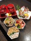 お食い初め膳(奥)特選三段会席弁当