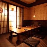 【完全個室】周囲が気にならない人気の個室◎少人数宴会や大人の飲み会に
