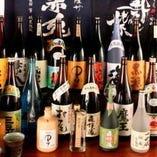 焼酎100種類と種類豊富!九州の地酒から定番までございます!