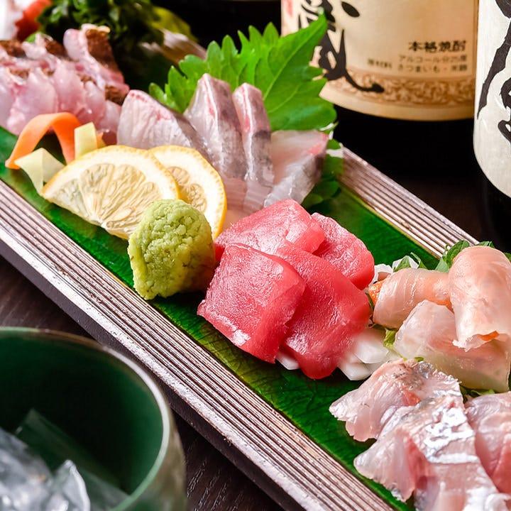 五島列島直送!素材を活かす逸品料理