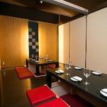 【会社宴会や接待にも】中規模宴会向けのリッチな完全個室