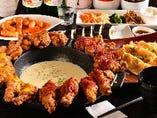 韓国家庭料理から流行のUFOチキンやモッパンセットまで☆