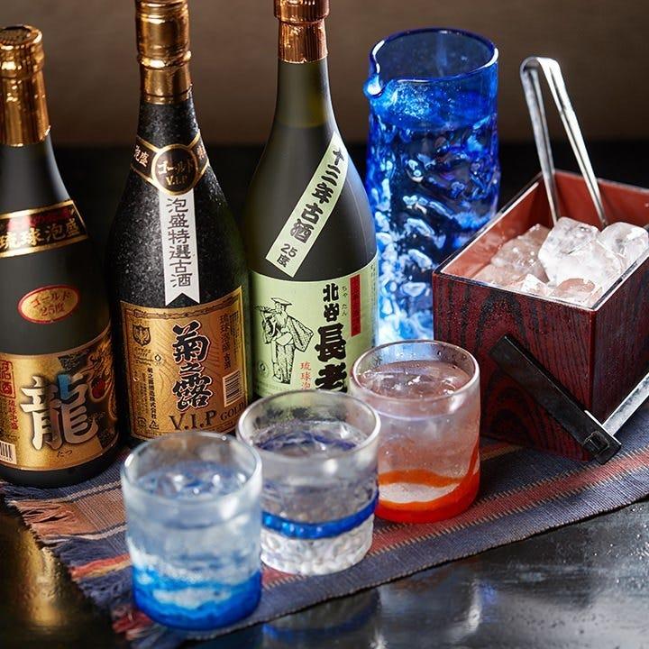 泡盛ボトルが1,000円(税抜)引き
