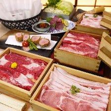 【◎豪華勢揃い◎豚・牛しゃぶ】匠コース 6500円