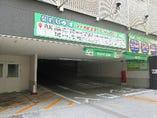 ココリ駐車場。一方通行なのでお気を付け下さい。