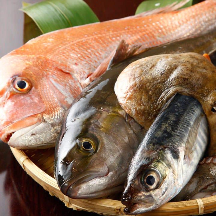 毎朝空輸で届く瀬戸内直送天然鮮魚