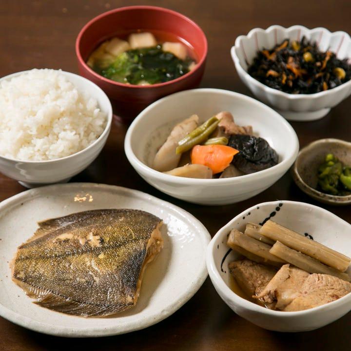 京食材の逸品充実♪多彩な御膳・定食