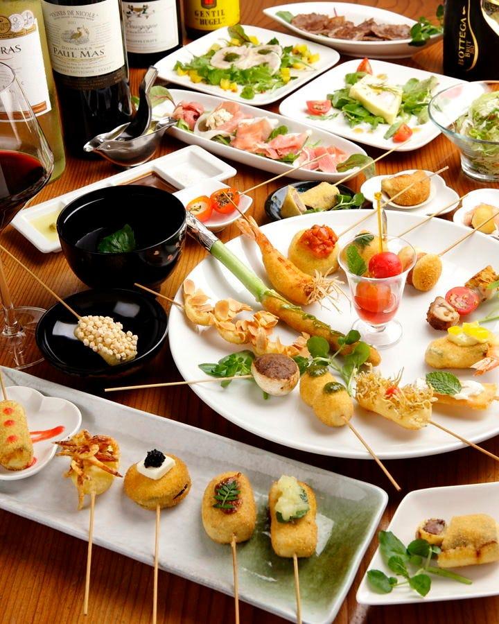新鮮食材が堪能できる宴会コース