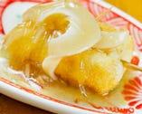 フカヒレと豆腐の中華風 自家製豆腐にフカヒレを添えて…