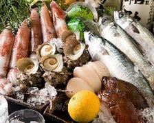 毎日仕入れる新鮮な魚介☆