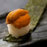 【四七】生うに寿司