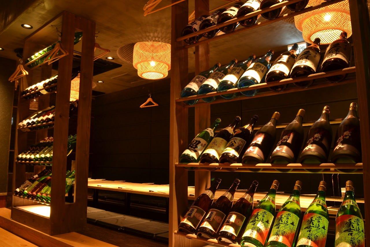 自分好みの日本酒を見つけて頂き 是非飲み比べを行ってください