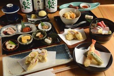 日本酒と天ぷらの店 天と鮮 なごやみせ コースの画像