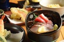 日替わり食材の職人料理長『旬天ぷらおまかせコース』3,000円