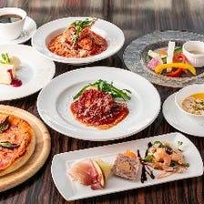 ◆【お料理のみ】お祝いに必須のデザートプレートをリーズナブルに◎『ESCRIBAコース』<全8品>