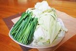 追加野菜(豆富付き)
