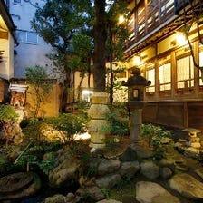 浅草寺前の純日本建築